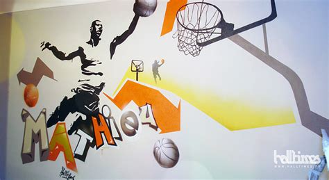 chambre basket decoration de chambre basketball visuel 4