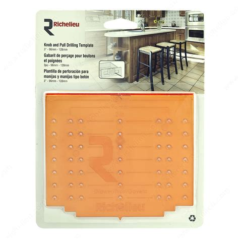 drawer pull template knob and pull drilling template for drawer installation richelieu hardware