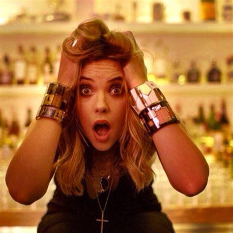 Ashley Benson Has A Good Surprise Face  Celebrity Social
