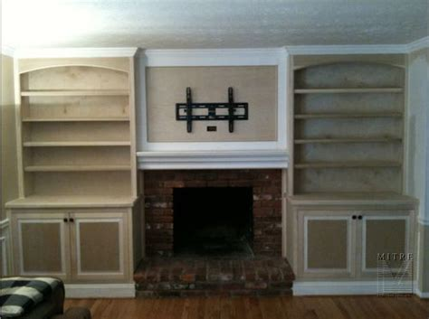 cabinets next to fireplace built in cabinets next to fireplace home improvement