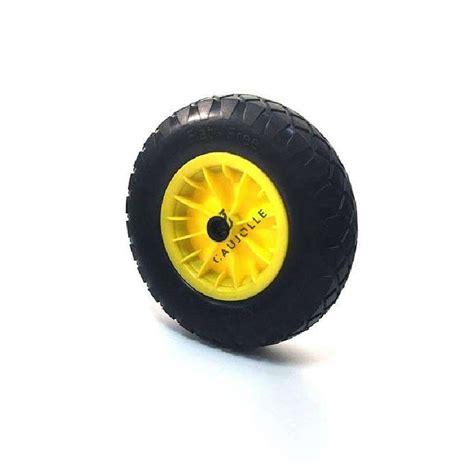 roue de brouette increvable diam 232 tre 400 mm axe 25 mm