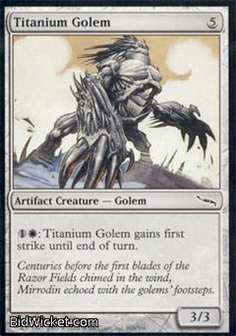 Magic The Gathering Golem Deck by Titanium Golem
