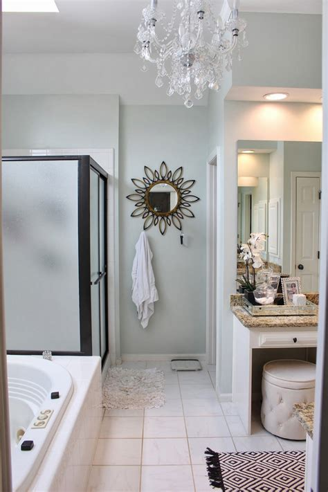 Spa Like Bathroom Paint Colors by Tiffanyd A Quot Spa Quot Bathroom Re Do Benjamin Healing