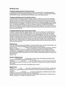 wedding vows non denominational mini bridal With non religious wedding ceremony script