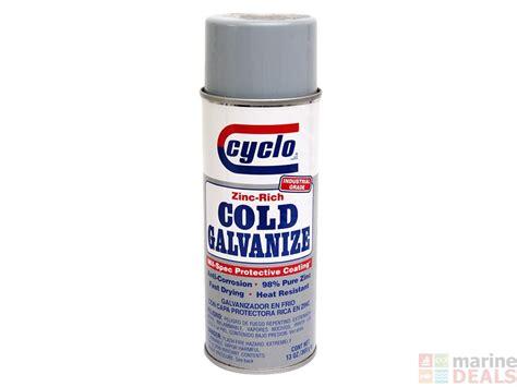 buy cyclo zinc cold galvanising spray paint at marine deals co nz