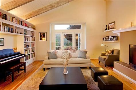 Small Living Room Furniture Arrangement by Built In Around Piano Basement Small Living Room