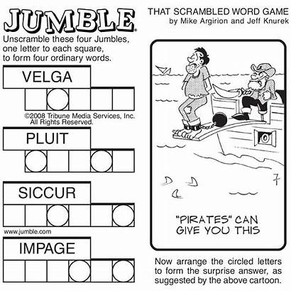 Jumble Tribune Printable Agency Sunday Word Games