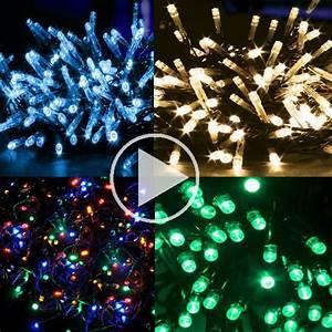 Led Weihnachtsbeleuchtung Außen : led lichterkette weihnachtsbeleuchtung innen au en bunt warmwei rot orange gr n ebay ~ A.2002-acura-tl-radio.info Haus und Dekorationen