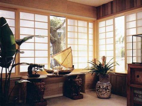 asian window coverings asian style window treatments