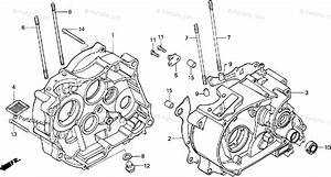 Honda Motorcycle 1988 Oem Parts Diagram For Crankcase