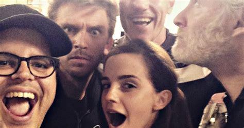 Disney's Beauty And The Beast Cast Share Selfie Photo