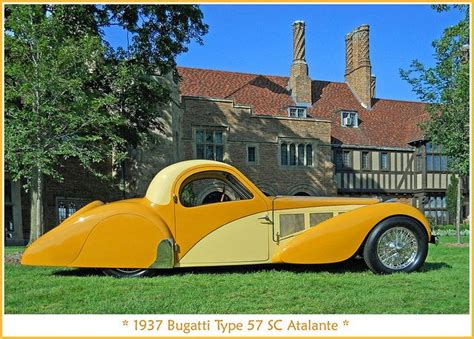 The supercharged type 57c was conservatively rated 160bhp with three to four pounds boost. 1937 Bugatti Type 57 Atalante by sjb4photos, via Flickr | Bugatti type 57, Bugatti cars, Bugatti