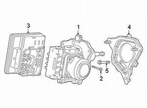 Chevrolet Silverado 1500 Abs Control Module Bolt  Abs