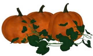 Pumpkin Vines Clip Art