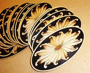 Marquetry, Inlays, Marquetry Fans,Custom Marquetry