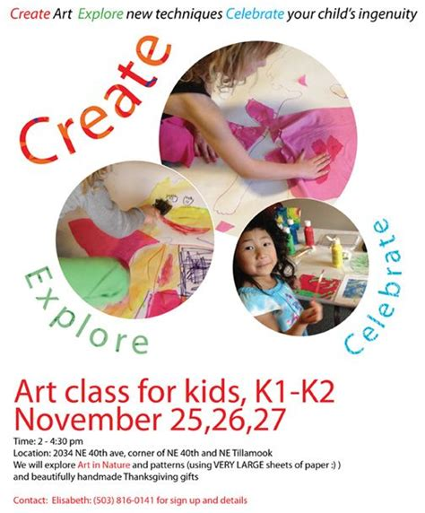images  expired art class flyers designs