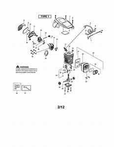 Poulan Pr4218 Type 1 Gas Chainsaw Parts