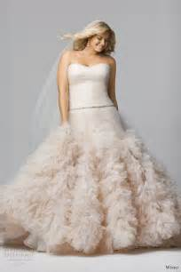 blush plus size wedding dress wtoo brides 2014 wedding dresses wedding inspirasi