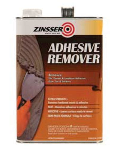 Mastic Tile Adhesive Menards by Zinsser 174 Adhesive Remover 1 Gal At Menards 174