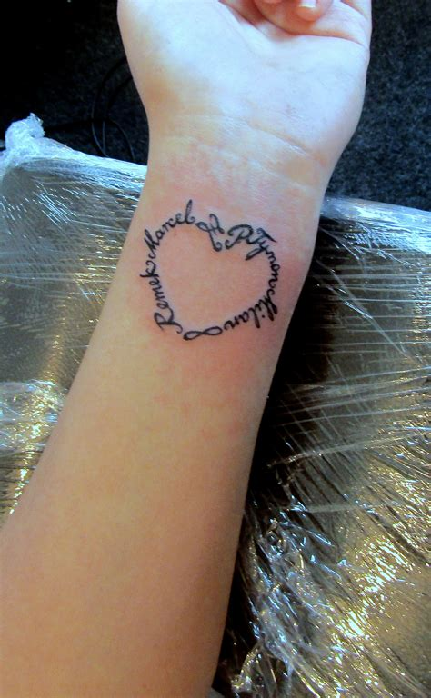 children names tattoo tattoos pinterest tattoo