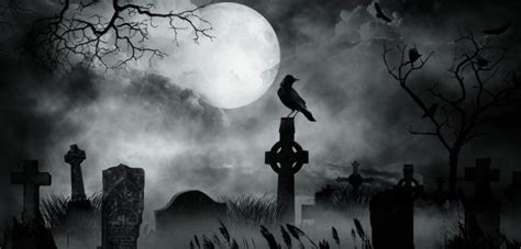 Dark Forest Background With Moon Forgotten Gothic Style Cemetery Of N Greece Photos Protothemanews Com