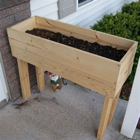 wooden garden boxes wooden planter happy hour projects