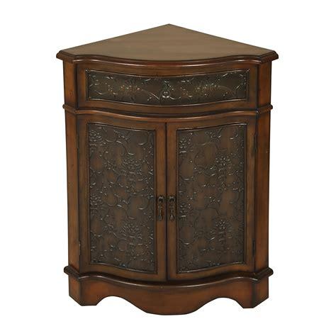 corner accent table passport accent furniture 2335 corner cabinet end table
