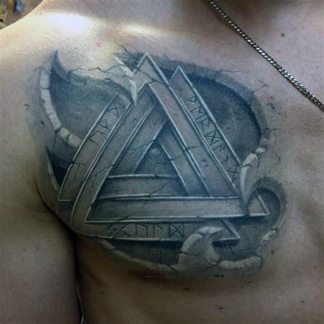 3D Tattoo Designs for Men Chest