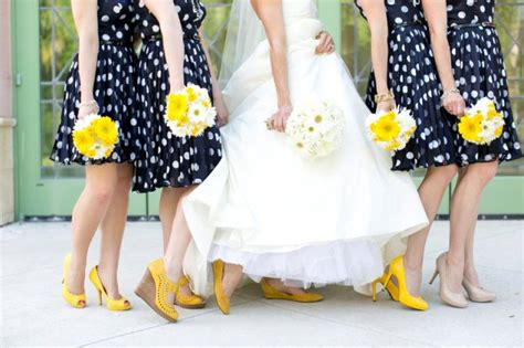 unique polka dot bridesmaid dress ideas weddingomania