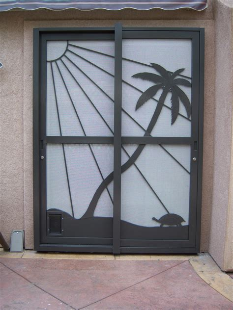 patio security screen doors as inspiration and