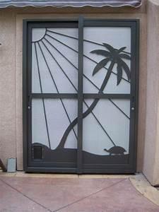 Sliding Glass Door Security Grilles