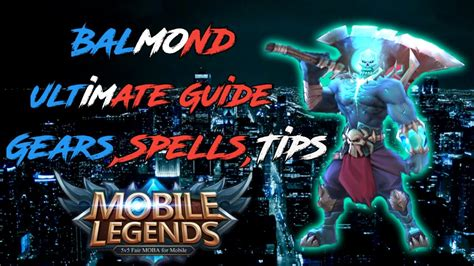 Balmond Guide -tips And Tricks- 2019