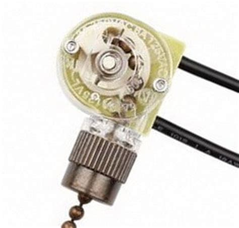 hunter fan switch replacement how to fix a ceiling fan light switch pull chain