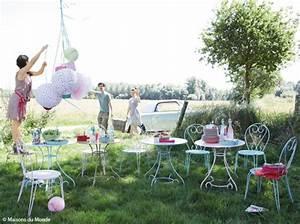 Déco Exterieur Jardin : nos astuces d co pour un jardin en f te elle d coration ~ Farleysfitness.com Idées de Décoration