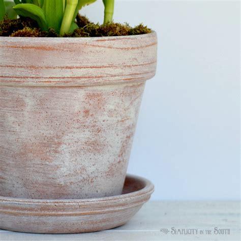 terra cotta planters diy aged terra cotta pots decorating delirium