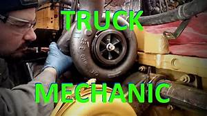 A Day In The Life Of A Truck Mechanic  Heavy Duty Truck