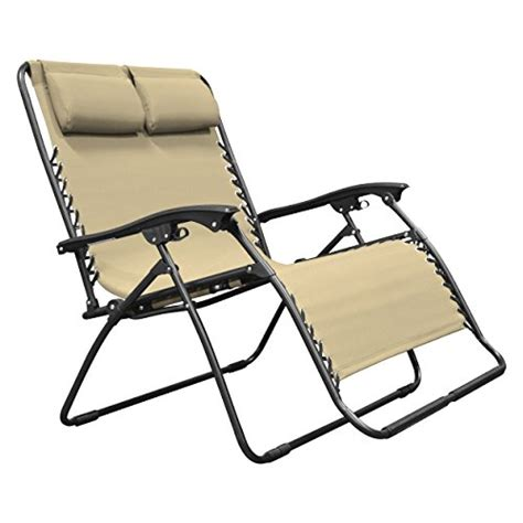 Caravan Sports Zero Gravity Chair Beige by Caravan Sports Zero Gravity Chair Loveseat Beige Garden