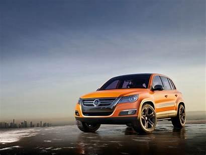 Volkswagen Tiguan Sunset Orange