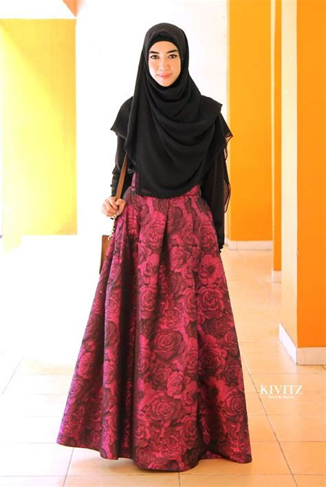 trend baju muslim modern  remaja