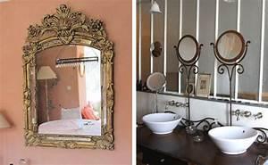 Miroir Deco Salon : chambre idee deco avec miroir rond salle de bain 12 ~ Melissatoandfro.com Idées de Décoration