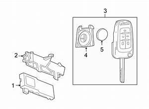 Buick Verano Keyless Entry Transmitter