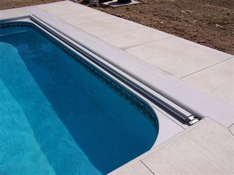 automatic pool covers   track system   ft