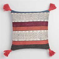 World Market Throw Pillow