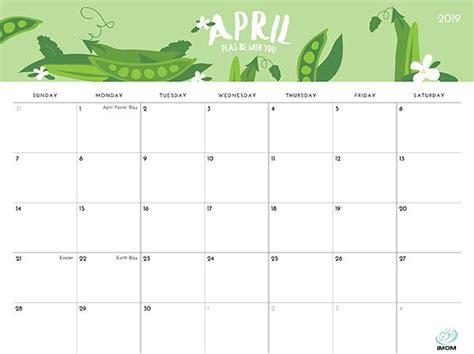 foodie printable calendar  moms calendar