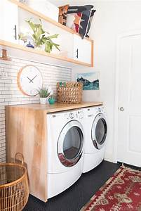 15 beautiful laundry rooms lil39 luna for Kitchen colors with white cabinets with derouleur papier wc