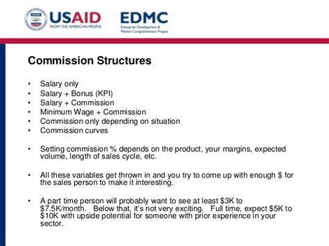 Sales Commision Structure Template by 5 4 Sales Structure And Compensation Pptx