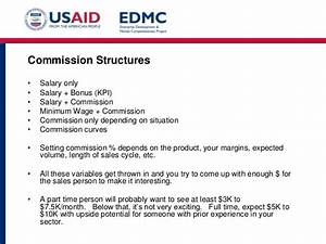 54 sales force structure and compensationpptx With sales commision structure template
