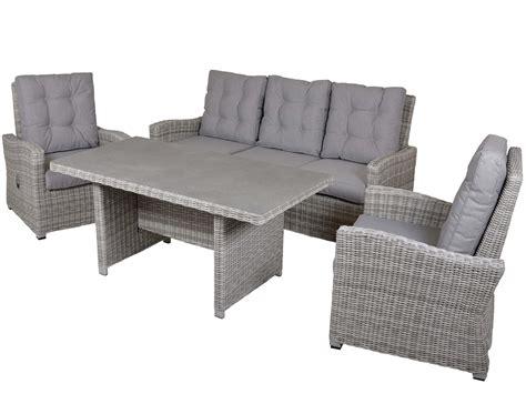 exclusive gartenmöbel lounges lounge gartenm 246 bel dining set 4 teilig gartenm 246 bel l 252 nse