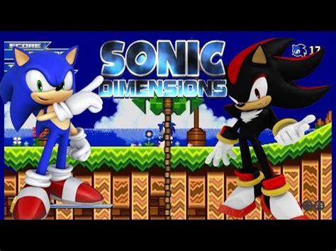 sonic fan games online full download sonic dimensions fan game