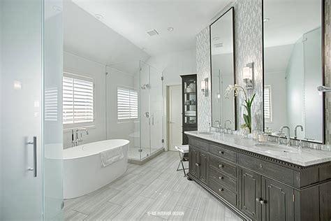 contemporary master bath remodel  interior design pre